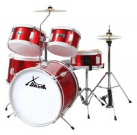 XDrum Junior batterie pour enfants rouge