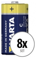 Varta Baby C Batterie 8er Pack Set