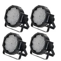 Showlite FLP-144 Flatline foco de panel LED 144x 10mm - set de 4 x
