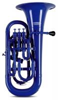 Classic Cantabile MardiBrass kunststof Bb tenortuba blauw