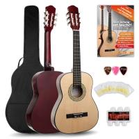 Classic Cantabile Acoustic Series AS-851 1/2 guitarra de concierto set para principiantes