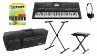 Yamaha PSR-E463 Keyboard Deluxe Set