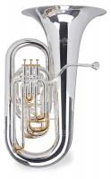 Lechgold Supreme ET-483S Eb Tuba versilbert - 1A Showroom Modell (Zustand: wie neu)