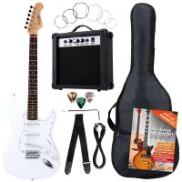 Rocktile Banger's Pack E-Gitarren Set, 8-teilig White - Retoure (Zustand: akzeptabel)