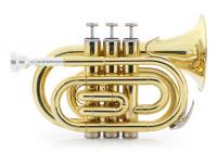 Classic Cantabile Brass TT-500 Bb-Taschentrompete Messing - Retoure (Zustand: sehr gut)