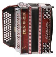 Zupan Juwel IVD Harmonika Shadow Red G-C-F-Bb - Retoure (Zustand: wie neu)