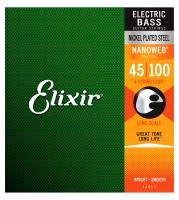 Elixir 14052 E-Bass Nanoweb Long Scale Light