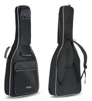 Rocktile Deluxe Custodia semirigida versione lusso per chitarra con tracolle ? colore nero