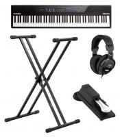 Alesis Recital Set inkl. Ständer, Kopfhörer und Pedal - Retoure (Zustand: sehr gut)