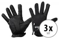 XDrum DGL-5F Drummer Handschuhe Größe L 3x Set