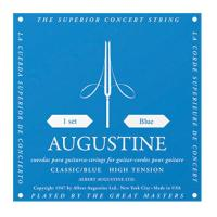 Augustine Gitarrensaiten Satz High Tension blau