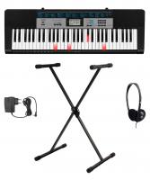 Casio LK-136 Leuchttasten Keyboard Set