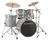 Ludwig Evolution Fusion 2 Shellset Silver/White Sparkle