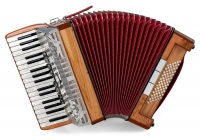 "Alpenklang Accordion IV 72 M Compact Chrome ""Meran"""