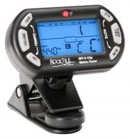 Rocktile MT-3 Clip Tuner (Metronome for String and Wind Instruments)