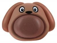 iCutes Bluetooth Speaker - Dog, Brown