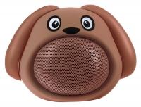 "iCutes Altoparlante Bluetooth ""Dog"" marrone"
