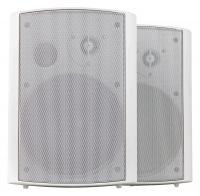 Pronomic USP-660 WH Paar HiFi Wandlautsprecher Box weiß 240 Watt - Retoure (Zustand: sehr gut)