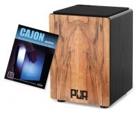 PUR Cajon PC125 Vision QS Indischer Apfel (Medium) Set inkl. Schule