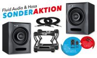 Fluid Audio FX50 Aktiv Studiomonitor Paar inkl. DS5 Set