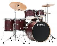 Tama IE62H6W-BWW Imperialstar Drumkit Burgundy Walnut Wrap