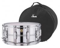 "Ludwig LM402 Supraphonic Snare Drum 14"" x 6,5"" Set inkl. Gigbag"