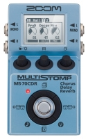 Zoom MS-70 CDR Multi Stomp Gitarreneffekt