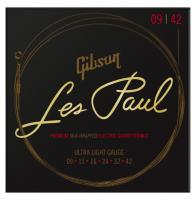 Gibson SEG-LES9 Les Paul Premium Saitensatz Ultra-Light 009-042