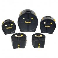 Hardcase HSTANDARD Drumset Case Set 22