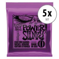 Ernie Ball 2220 Power Slinky - 5er Pack