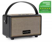 Bennett & Ross BB-820BK Blackmore Altavoz Junior con batería y Bluetooth Negro