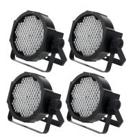 Showlite FLP-144W RGBW Flatline Panel LED, 144x 10 mm 4er SET
