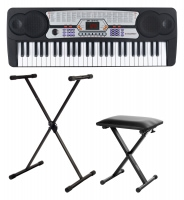 McGrey BK-5410 keyboard SET inb. stand en bank