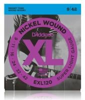 D'Addario EXL120 Super Light