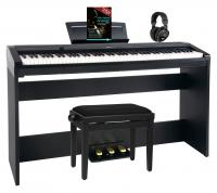 Steinmayer P-60 SM stage piano home set zwart