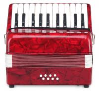 Classic Cantabile Secondo Kinder Akkordeon 8 Bass rot - Retoure (Verpackungsschaden)