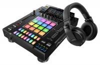 Pioneer DJ DJS-1000 + HDJ-X5-K Schwarz SET