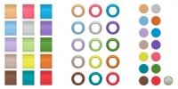 Sennheiser EW-D Color Coding Set komplett