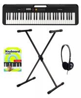 Casio CT-S200 BK Keyboard Starter Set Schwarz