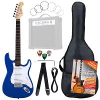 Rocktile Banger's Pack E-Gitarren Set, 8-teilig Blue - unvollständig!
