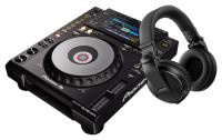 Pioneer DJ CDJ-900NXS + HDJ-X5-K Schwarz SET