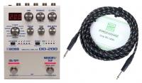 Boss DD-200 Digital Delay Set inkl. Kabel