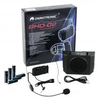 Omnitronic BHD-02 Tour Guide Headset System Set