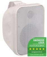 Pronomic OLS-5 WH Outdoor-Lautsprecher weiß 100 Watt - Retoure (Zustand: sehr gut)