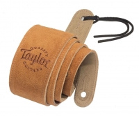 Taylor Suede Logo Strap Honey