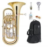 Lechgold Supreme EU-310L Euphonium lackiert Deluxe Set