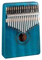 Sela SE 249 Kalimba Mahagoni 17 Blau