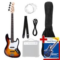 Rocktile Groover's Pack JB E-Bass Sunburst - unvollständig!