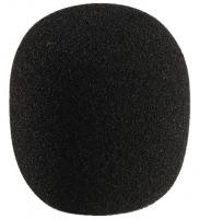 Monacor WS-60 Mikrofon-Windschutz Schwarz