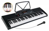 McGrey LK-6120-MIC Leuchttasten-Keyboard mit Mikrofon schwarz - Retoure (Zustand: sehr gut)